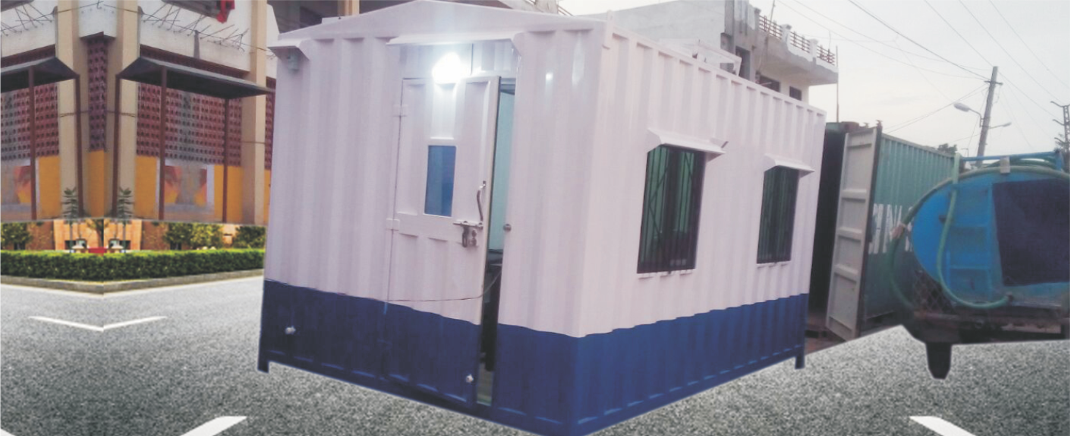 Portable Cabin Suppliers in Rajsthan